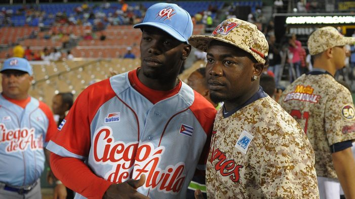José Adolis García ha desertado de Cuba y busca jugar en G.L.