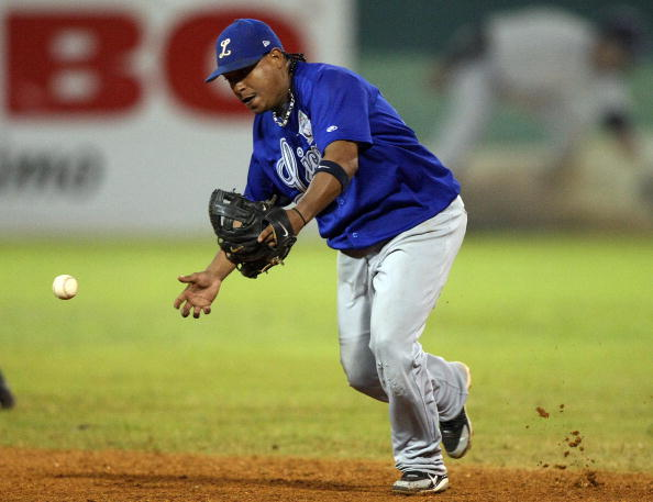 Ronnie Belliard of Aguilas de Cibao of D