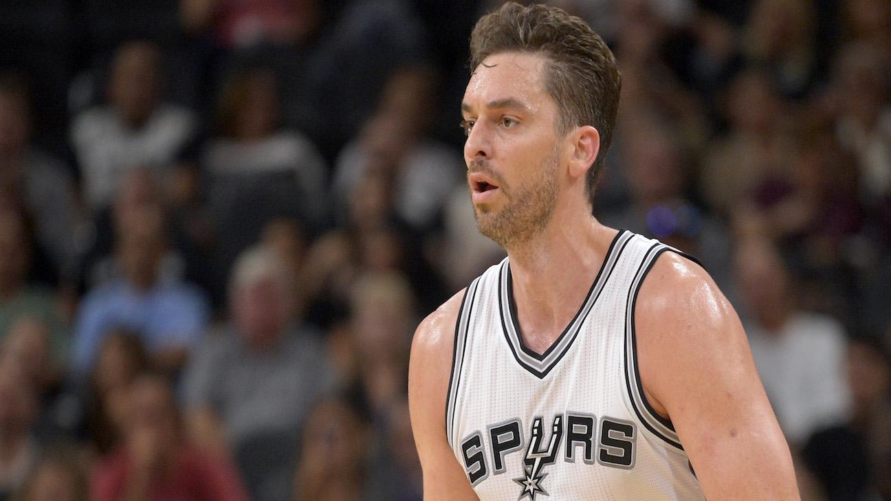 Satisfecho Gasol tras su debut con San Antonio Spurs