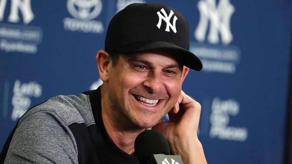 Aaron Boone acepta las altas expectativas que hay sobre los Yankees